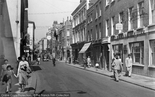 Mini Of Rochester >> Photo of Rochester, High Street c.1955 - Francis Frith