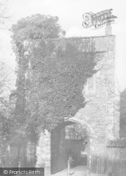 Rochester, Priory Gateway 1889
