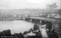 Rochester, The Bridge From The Castle 1894