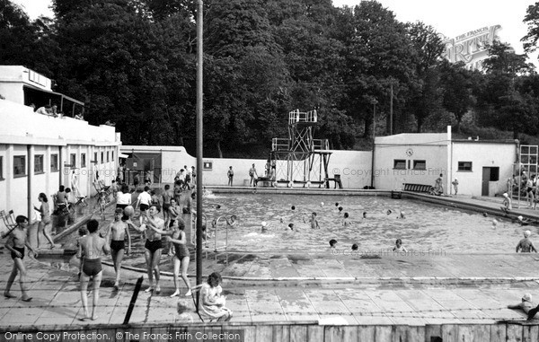 Photo Of Rochester The Swimming Pool Francis Frith
