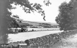 Rochester, The Valley From Redesdale Arms c.1965