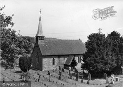 Rochford, St Michael's Parish Church c.1955