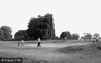 Rochford, the Golf Links c1955