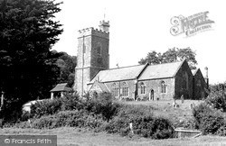 Church Of St Mary With St Andrew c.1955, Rockbeare