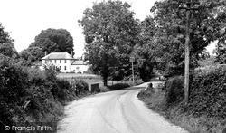 Gribble Lane c.1955, Rockbeare