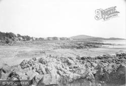 Rockcliffe, The Beach c.1960