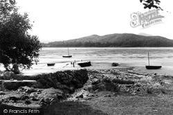 Rockcliffe, The Pier c.1960