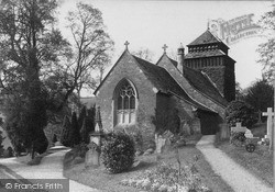 Rockfield, Church Of St Cenedlon c.1890
