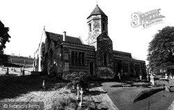 St Leonard's Church c.1960, Rockingham