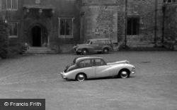 Sunbeam Talbot At The Castle c.1960, Rockingham