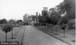 The Castle Grounds c.1960, Rockingham