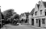 Rodborough, the Village c1950