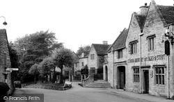 Rodborough, The Village c.1950