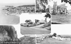 Bucklegrove Caravan Park Composite c.1955, Rodney Stoke
