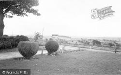 Bucklegrove Caravan Site c.1960, Rodney Stoke
