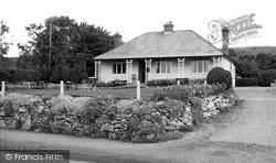 Bucklegrove Terrace c.1955, Rodney Stoke