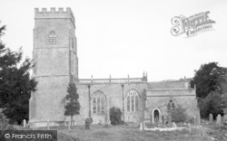 The Church Of St Leonard c.1955, Rodney Stoke