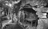 Rokeby, Sir Walter Scott's Cave 1914