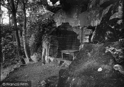 Rokeby, Sir Walter Scott's Steps And Cave 1933