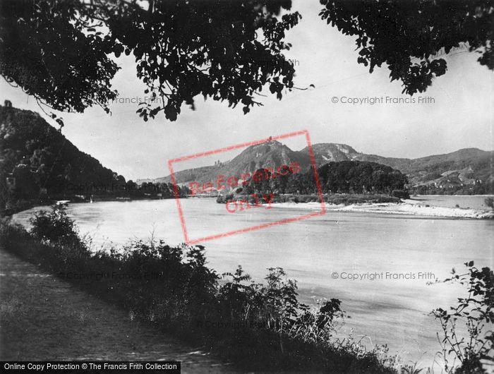 Photo of Rolandseck, With Rolandsbogen, Nonnenworth And Dragon Rock c.1930