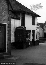 Rolleston, Telephone Box c.1965