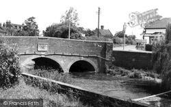 Rolleston, The Bridge c.1965