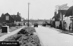 Rolvenden, Benenden Road c.1955