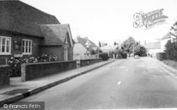Rolvenden, Hastings Road c.1960