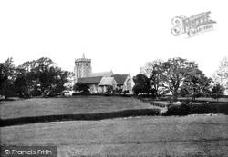 Rolvenden, St Mary The Virgin Church 1901