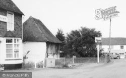 Rolvenden, The Bull Inn c.1960