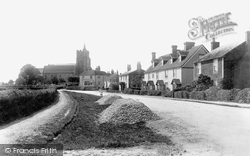 Rolvenden, The Village And St Mary The Virgin Church 1901