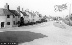 Rolvenden, View From The Lychgate c.1960