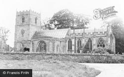 Parish Church c.1955, Romaldkirk