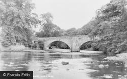 River Tees And Bridge c.1955, Romaldkirk