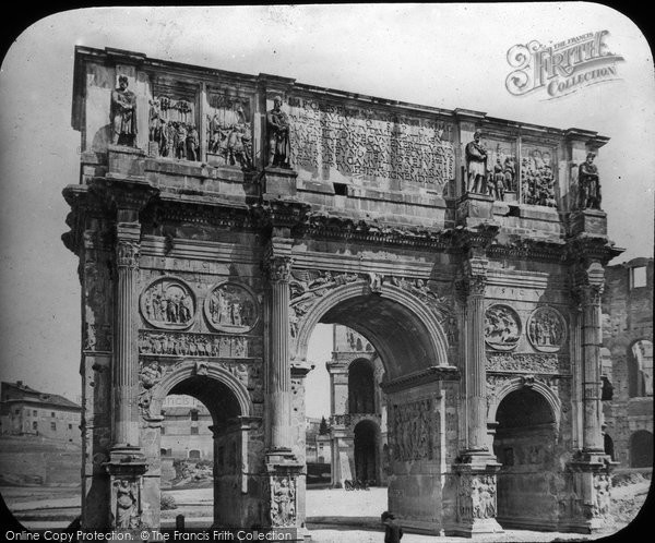 Photo of Rome, Arch Of Constantine c.1865