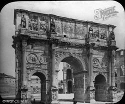 Rome, Arch Of Constantine c.1865