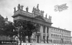 Archbasilica Of St John Lateran c.1930, Rome