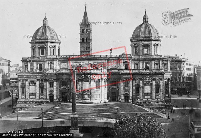 Photo of Rome, Basilica Di Sant Maria Maggiore c.1930