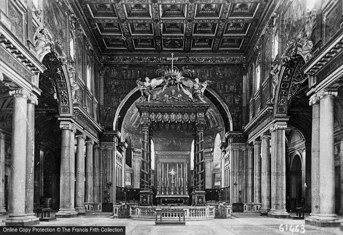 Photo of Rome, Basilica Di Santa Maria Maggiore, Interior c.1930