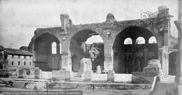 Photo of Rome, Basilica Of Constantine c.1873
