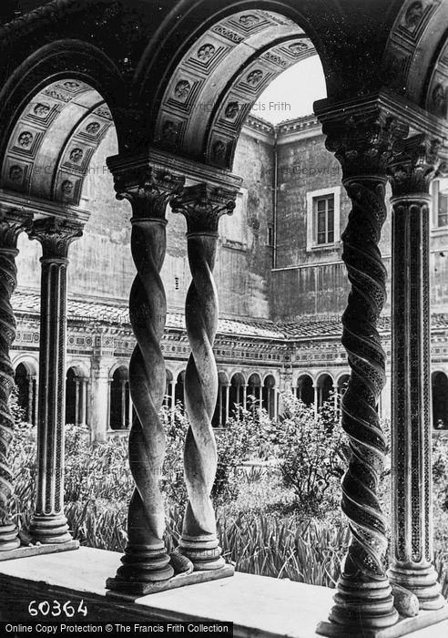 Photo of Rome, Basilica Of St Paul Outside The Walls, Cloisters c.1930