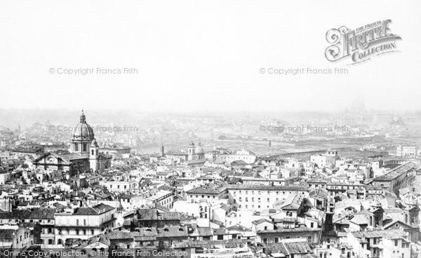 Photo of Rome, c.1872