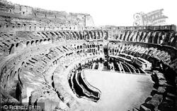 Rome, Colosseum Interior c.1875