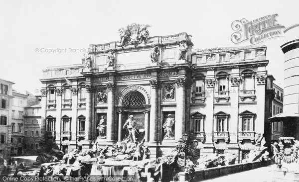 Photo of Rome, Fontana Di Trevi c.1873