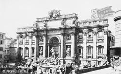 Rome, Fontana Di Trevi c.1873