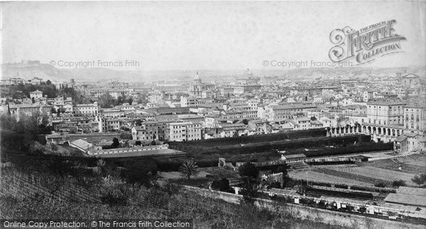 Photo of Rome, From Aqua Paolo c.1872