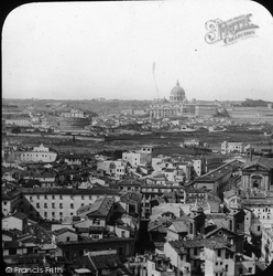 Rome, From The French Academy c.1865
