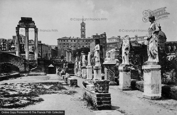 Photo of Rome, House Of The Vestals c.1930