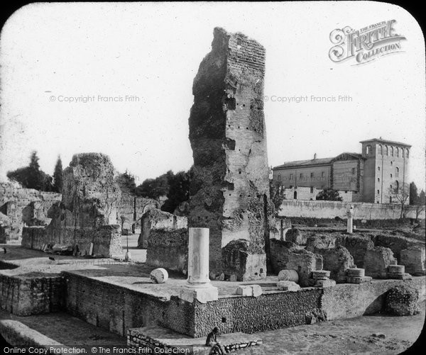 Photo of Rome, Palatine Hill, Ruins, Palace Of The Caisars c.1875