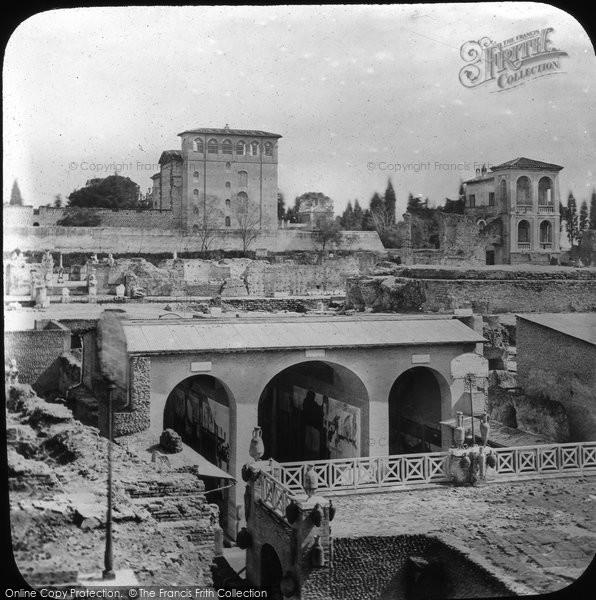 Photo of Rome, Palatine Hill, The Vestibule c.1875